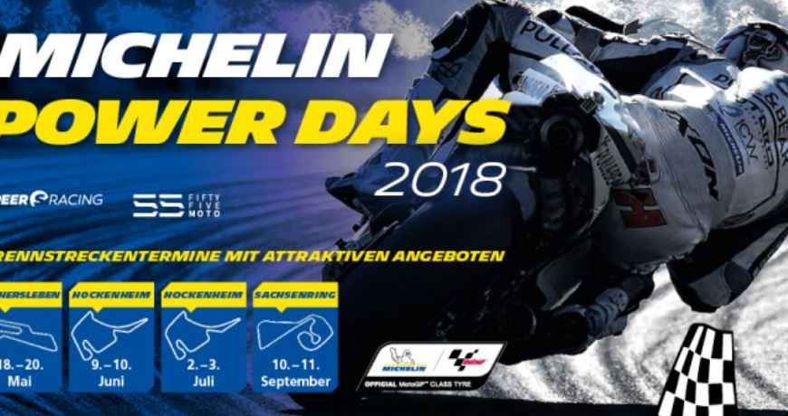 Michelin Motorradreifen POWER DAYS 2018