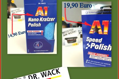 WARENANGEBOT🛒 Dr.Wack A1 Speed Polish Nano Kratzer Polish 🧼🚘🚿🧼🚘🚿🧼🚘🚿